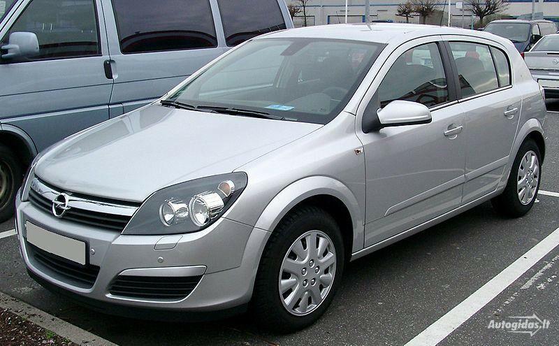 Opel Astra II 2006 m dalys