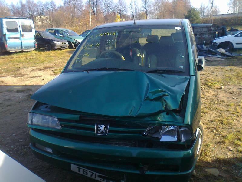 Peugeot 806 1998 m dalys