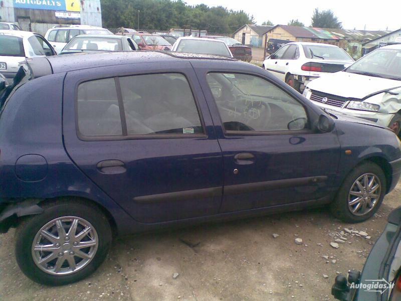 Renault Clio II 1999 m dalys
