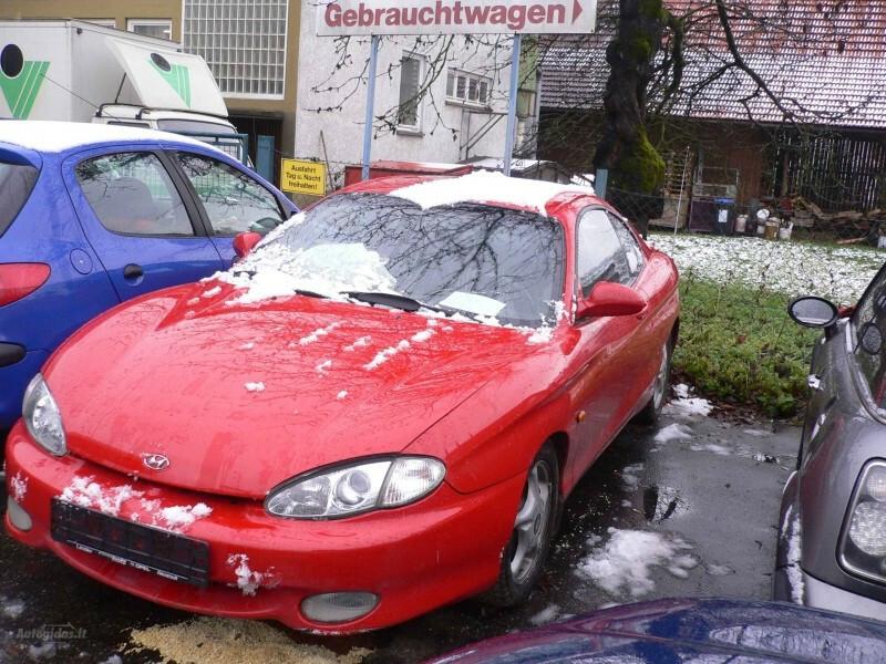 Hyundai Coupe 2.0 DOCH 1997 m dalys