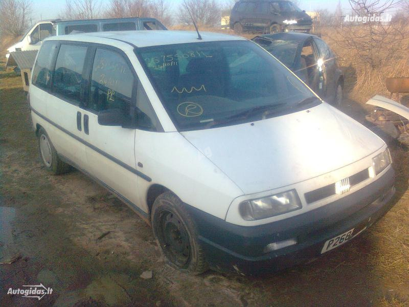 Fiat Ulysse 1996 m dalys