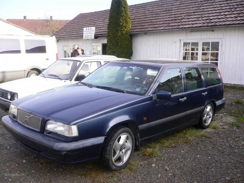 Volvo 850 2.3 TURBO automatas 1996 г запчясти