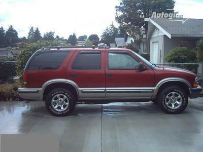 Chevrolet Blazer 1998 m dalys