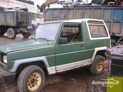 Daihatsu Rocky 1990 m dalys