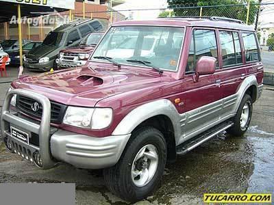 Hyundai Galloper 1999 y. parts
