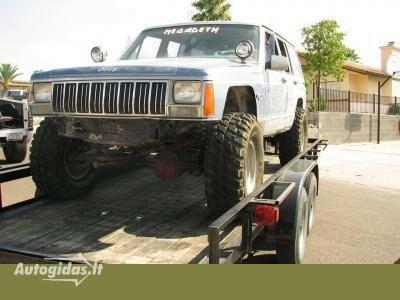 Jeep Cherokee 1989 m dalys