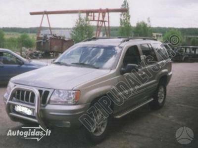 Jeep Grand Cherokee II 2003 m dalys