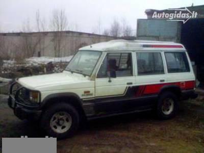 Mitsubishi Pajero I 1986 m dalys