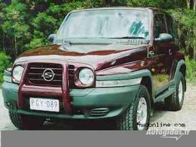 Ssangyong Korrando 2000 y. parts