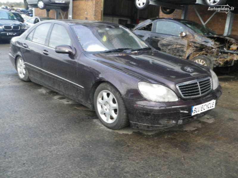 Mercedes-Benz S 430 W220 2001 m. dalys