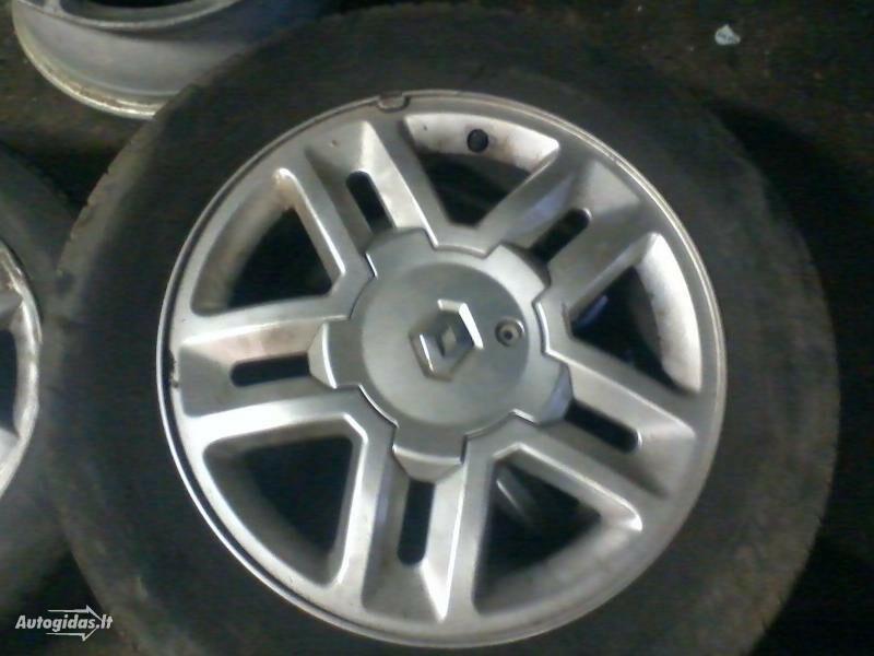 Renault Scenic R16 lengvojo lydinio  ratlankiai