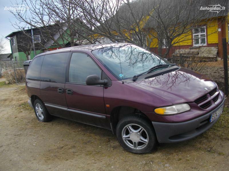 Dodge Caravan II 1999 m dalys