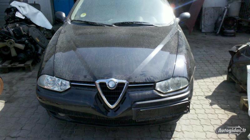 Alfa Romeo 156 dyzelis ir benzinas 2001 m dalys