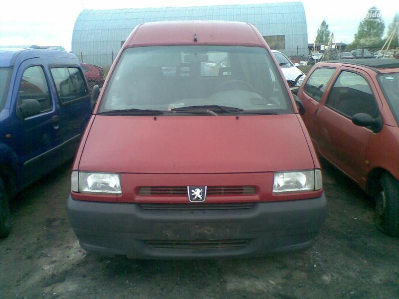 Peugeot Expert 1997 m dalys