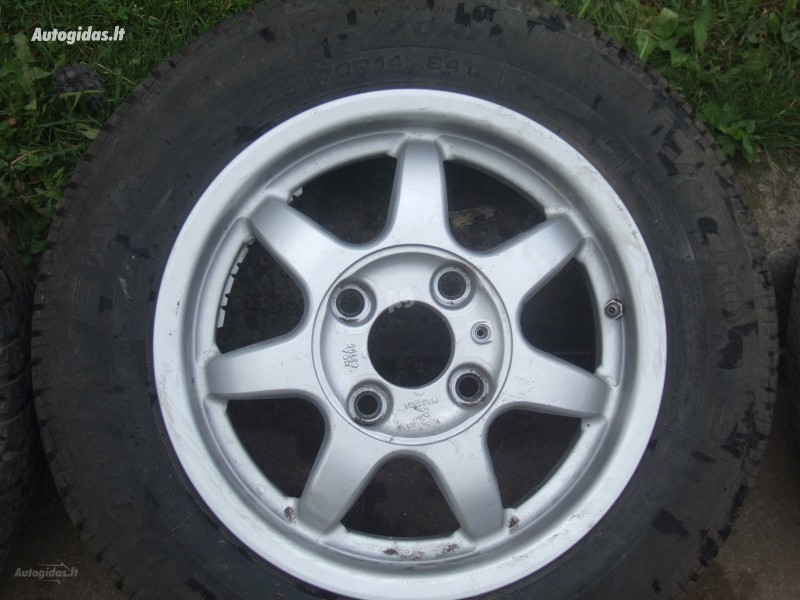 Mitsubishi Galant R14 light alloy  rims