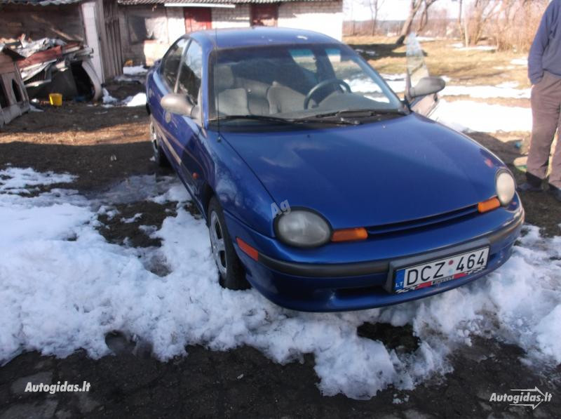 Dodge Neon 1997 y. parts