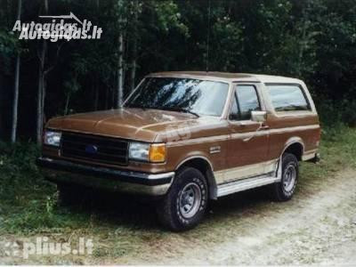 Ford Bronco 1988 m. dalys