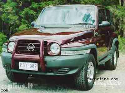 Ssangyong 2000 y parts