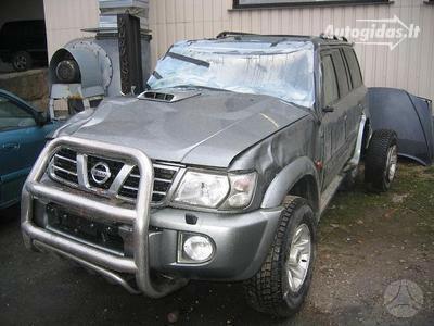 Nissan Patrol GR II Y61 2003 m. dalys