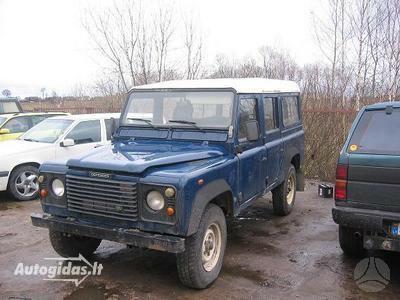 Land Rover Defender 1998 m dalys