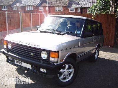 Land-Rover Range Rover 1993 m. dalys