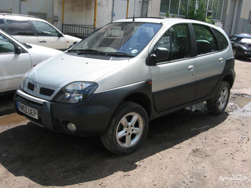 Renault Scenic Rx4 2001 m. dalys