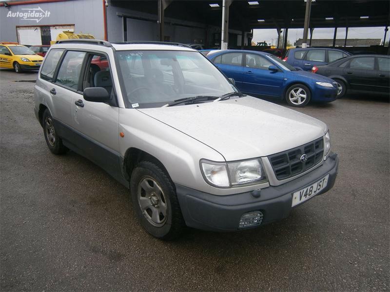 Subaru Forester I 2.0   1999 m dalys