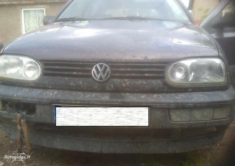 Volkswagen Golf III TD 1994 m. dalys