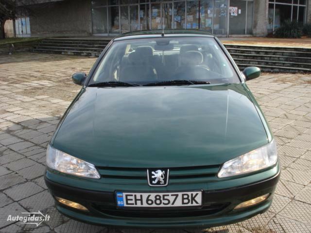 Peugeot 406 1998 y. parts