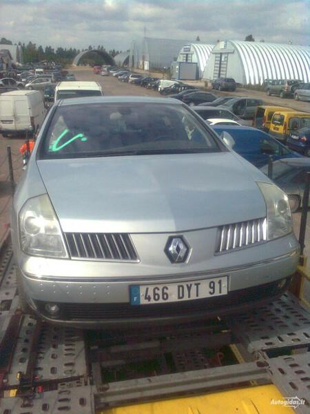 Renault Vel Satis 2005 m dalys