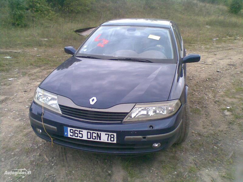 Renault Laguna 2003 m dalys