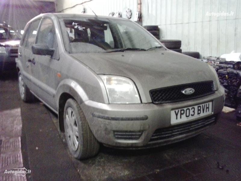 Ford Fusion 2004 m. dalys