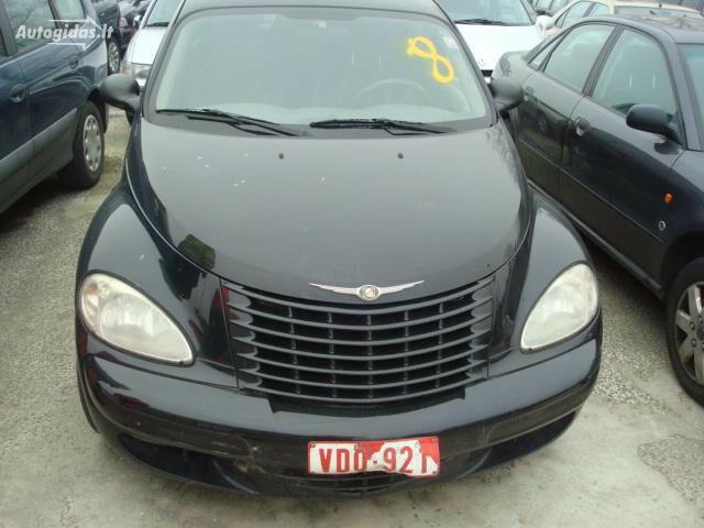 Chrysler Pt Cruiser EUROPA 2001 m dalys