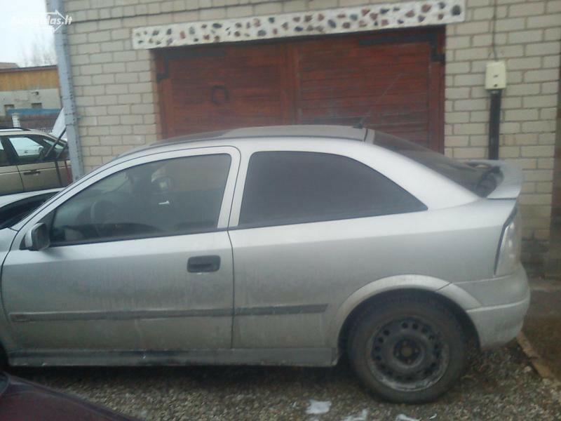 Opel Astra II G DTI 55KW ISUZU 2001 m. dalys