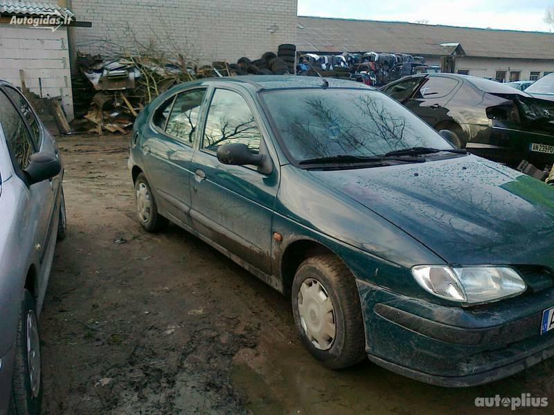 Renault Megane I 1997 m dalys