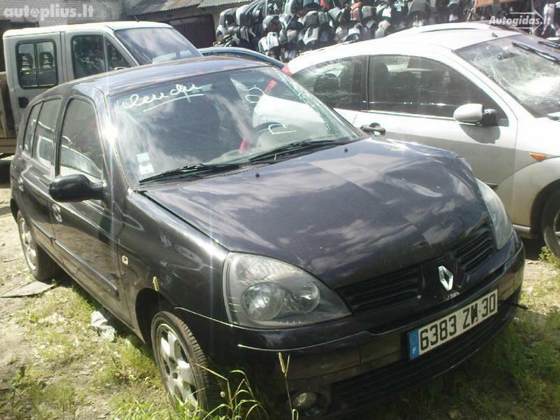 Renault Clio II 2005 m dalys