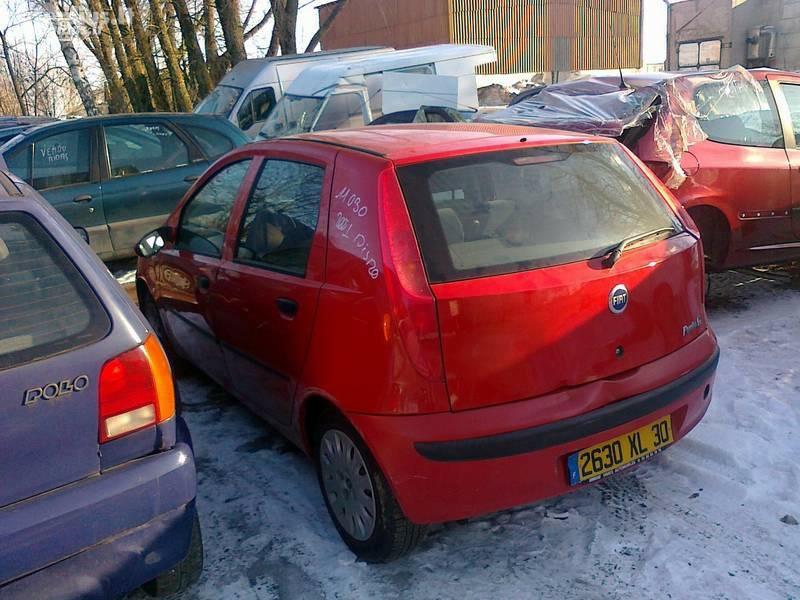 Fiat Punto II 2001 m. dalys