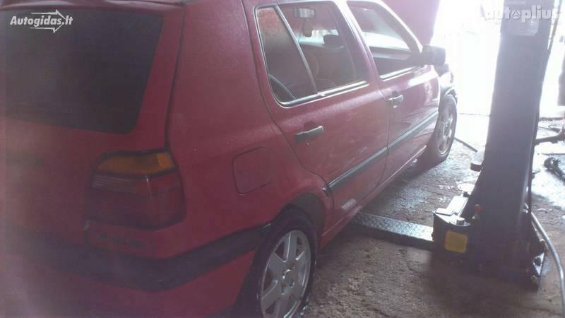 Volkswagen Golf III 1993 m dalys