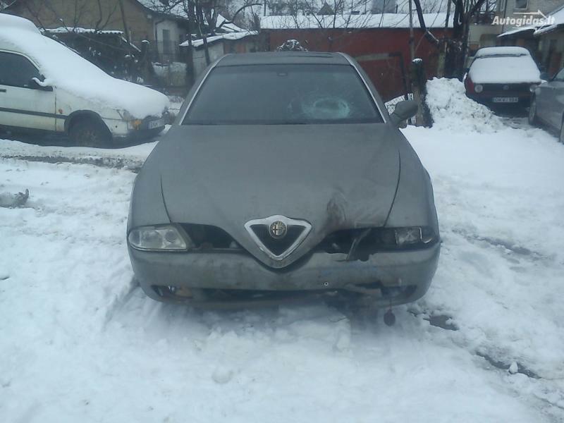 Alfa-Romeo 166 V6 140kw 1999 m. dalys