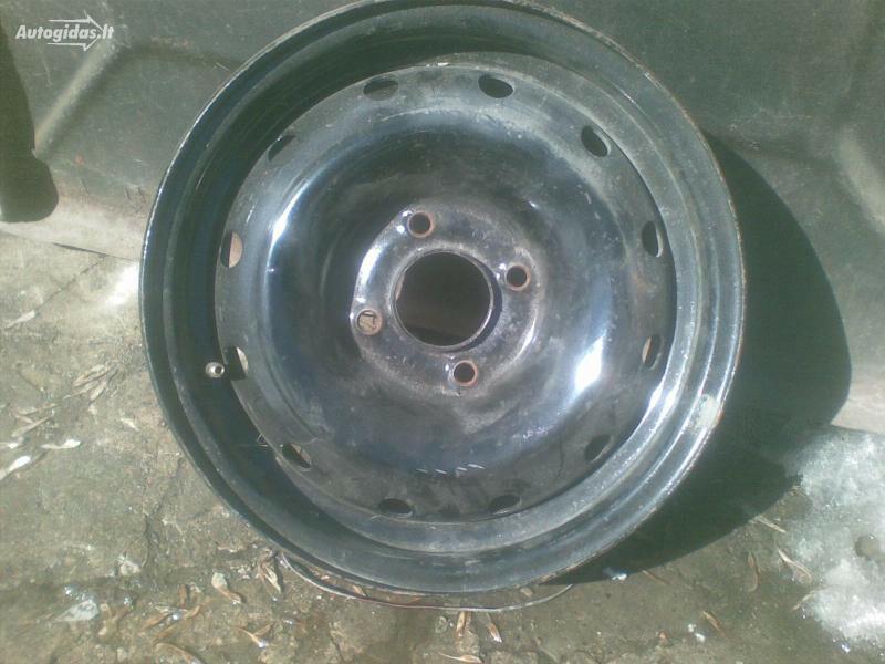 Peugeot 406 R14 plieniniai štampuoti  ratlankiai
