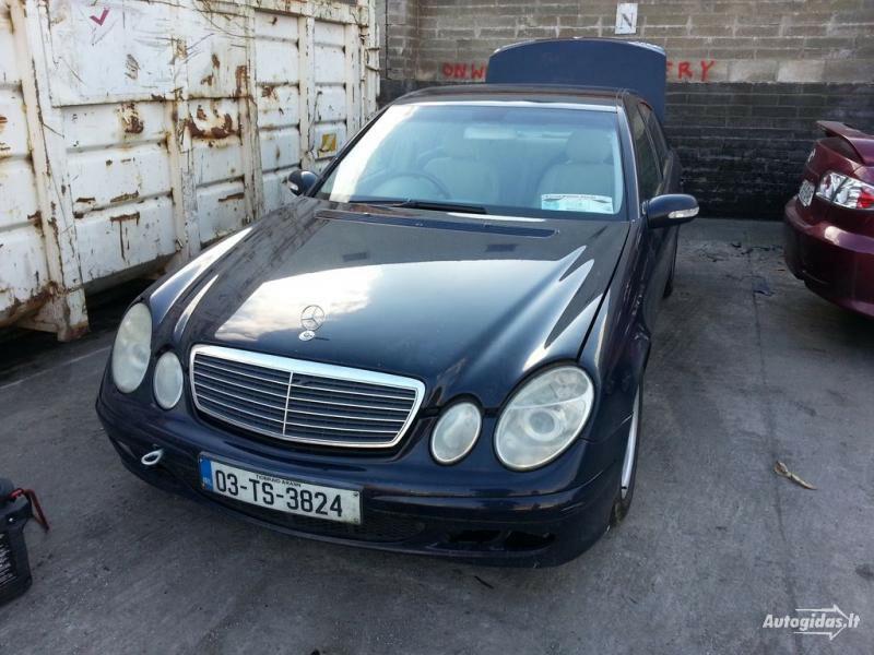 Mercedes-Benz E 200 W211 2003 m dalys