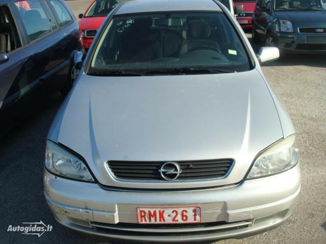 Opel Astra II Benzinas ir dyzelis 2001 m dalys