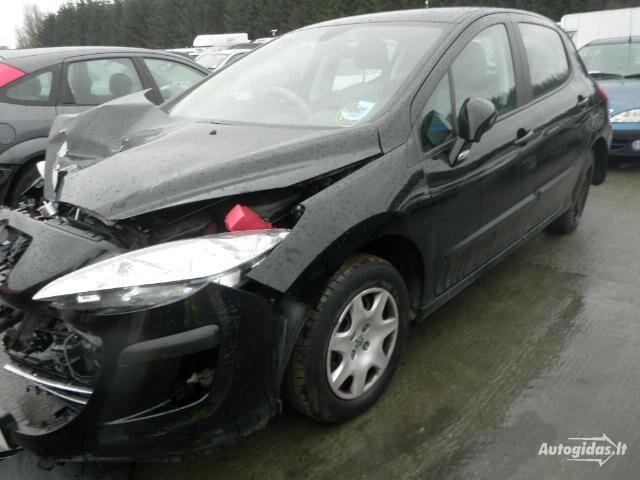 Peugeot 308 2010 m dalys