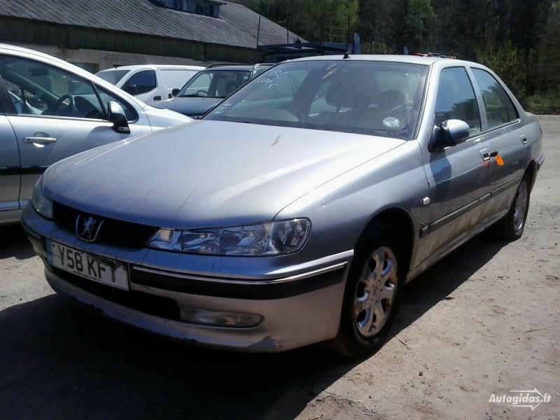 Peugeot 406 2002 m. dalys