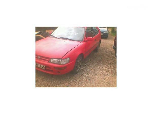 Toyota Corolla SERIA E10 1996 m dalys