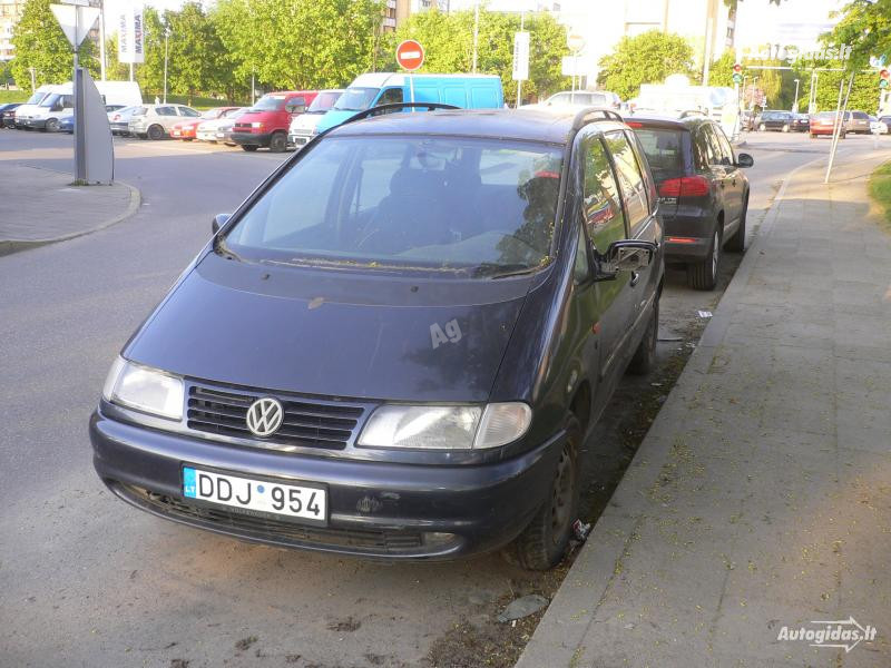 Volkswagen Sharan I 1996 y. parts