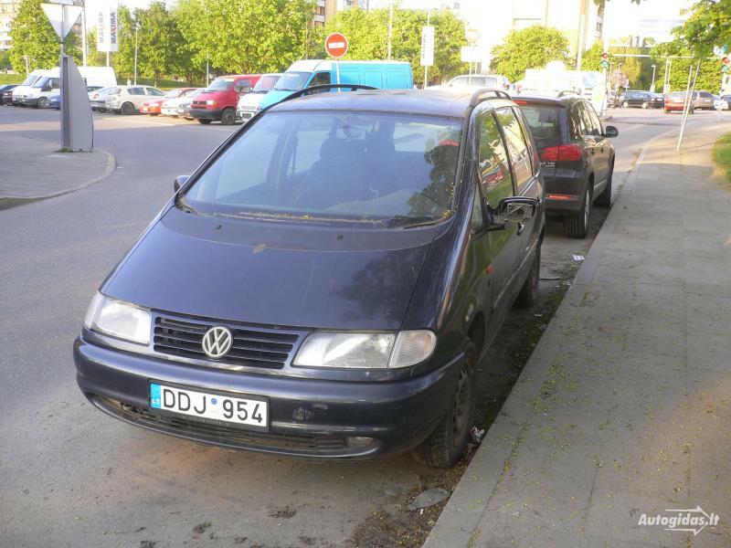 Volkswagen Sharan I 1996 m dalys