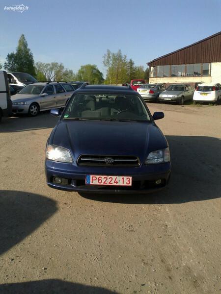 Subaru Legacy III 2000 m. dalys