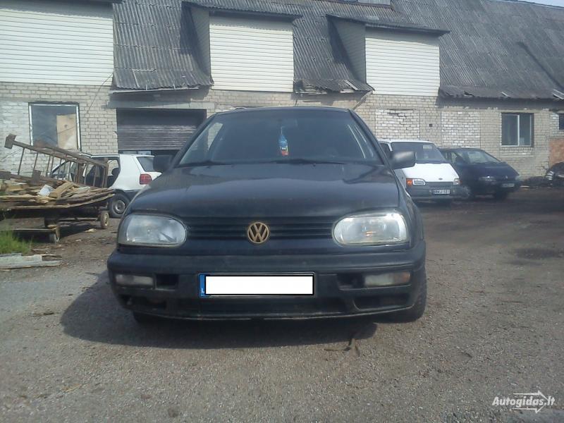Volkswagen Golf III 1.9 tdi 66kw 1994 m dalys