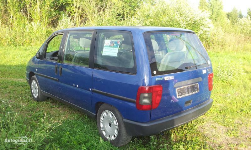 Fiat Ulysse Europa 2,0 16VHDI 2002 m dalys